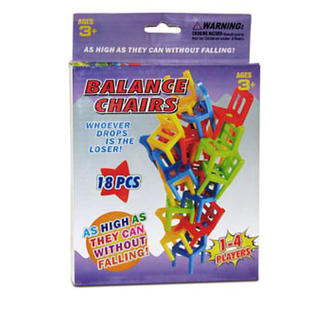balance chair for kids banquet covers on ebay dazzling toys balancing game 18 piece educational puzzle stacking toy