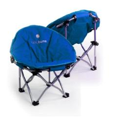 Lucky Bums Camp Chair Replacement Glider Rocking Cushions Moon Camping With Carry Case Medium Alternate Image