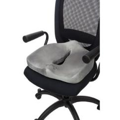 Posture Support Seat Cushion Linen Dining Chair Comfilife Orthopedic Coccyx And Wheelchair Office For Back Pain