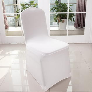 universal wedding chair covers wingback uk tops 100pcs spandex for supply party banquet decoration