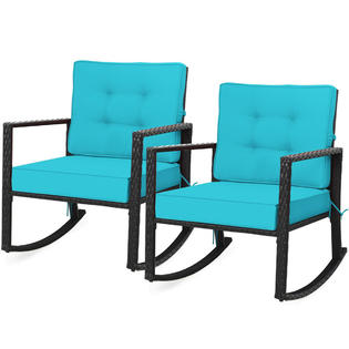 gymax gym05894a5920 2pcs outdoor wicker