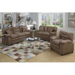 Sears Living Room Sectionals Ideas For My Sofas Loveseats Sofa Set Esofastore Dark Brown 3pc Microfiber Loveseat Chair Accent Tufting Deep Plush Seating