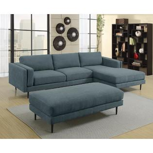 denim living room furniture ideas with brown and black esofastore beautiful lovely sectional sofa set chaise fabric plush cushioned couch