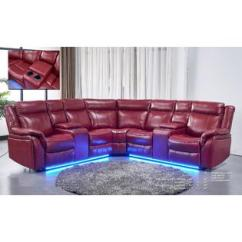 Sectional Sofas Recliners Plans To Make A Sofa Table Red Leather Recliner Esofastore Modern Unique Set Living Room Power Loveseat W Console Corner Air