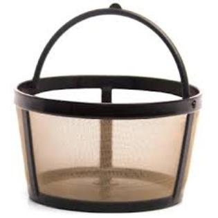 Goldtone 4Cup Basket Style Permanent Coffee Filter fits