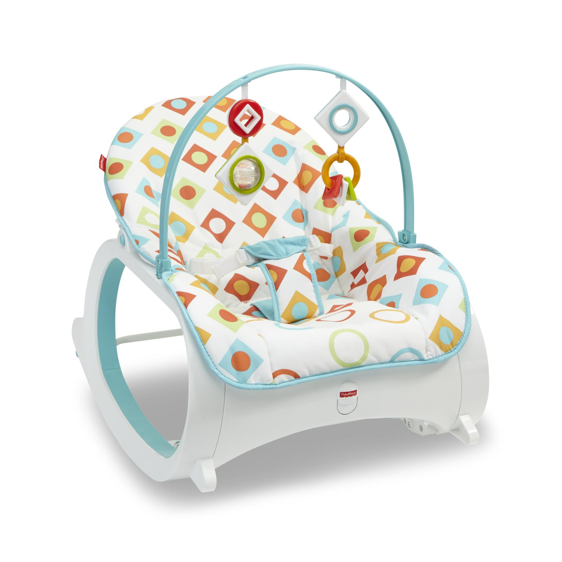 baby chair rocker lace covers for wedding bouncers rockers sears fisher price infant to toddler bouncer seat sleeper swing toy portable