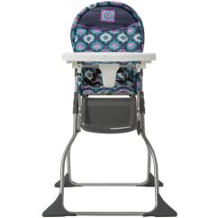 Portable Folding High Chair Herman Miller Aeron Cosco Girls Simple Fold Highchair Midnight Garden
