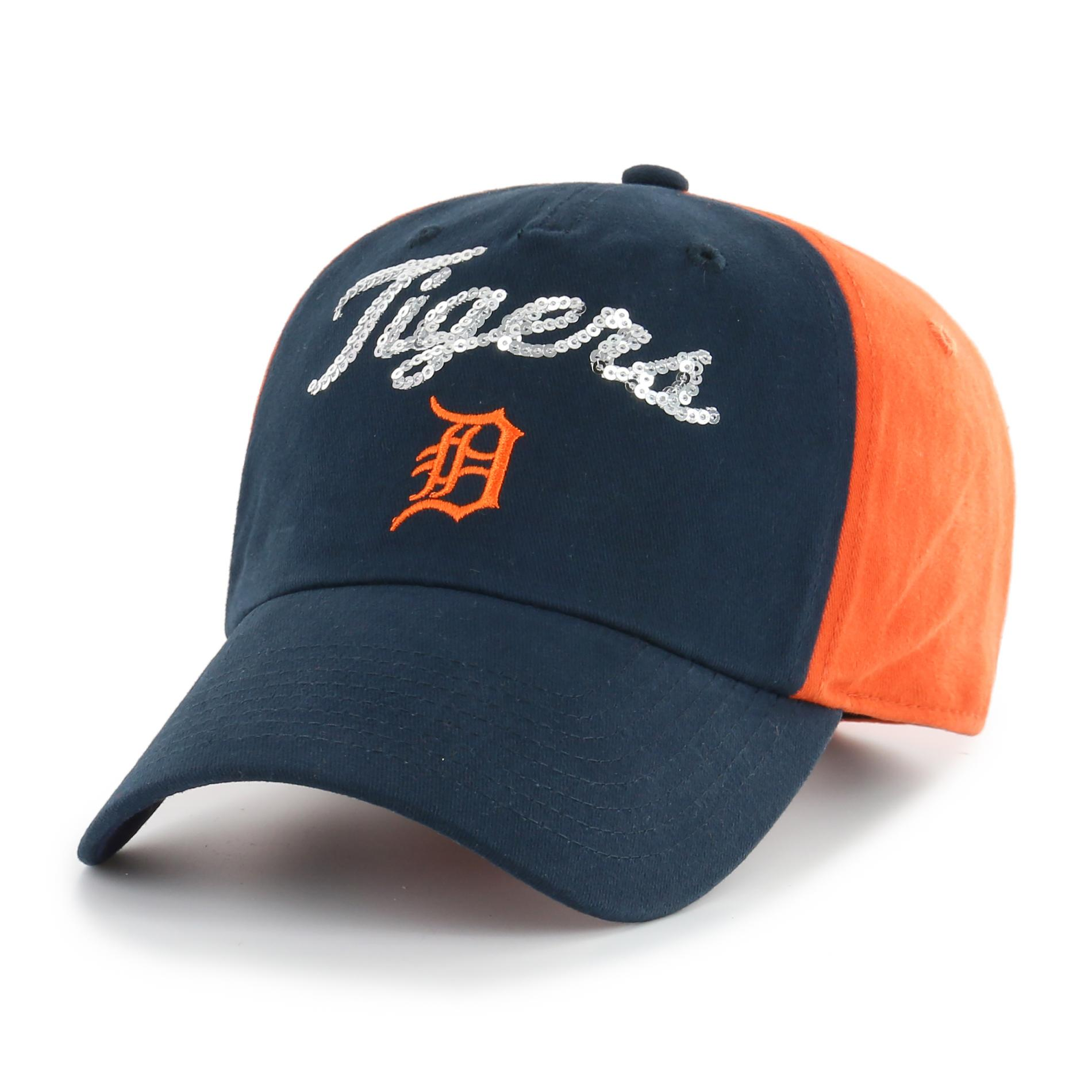 Mlb Women' Sparkle Baseball Hat - Detroit Tigers