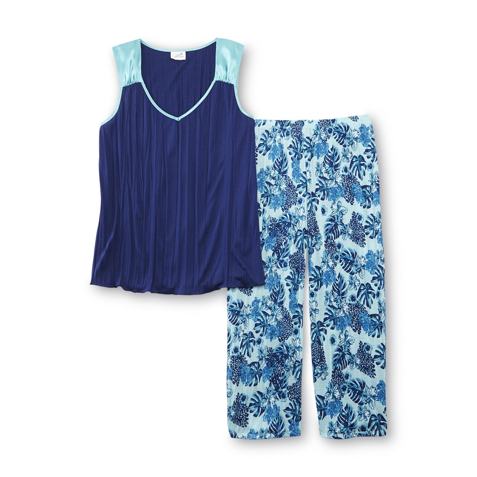 Tropical Print Tops for Women