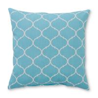 Essential Home Square Decorative Pillow - Moroccan Print ...