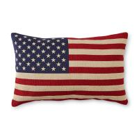 Decorative Rectangle Pillow - American Flag