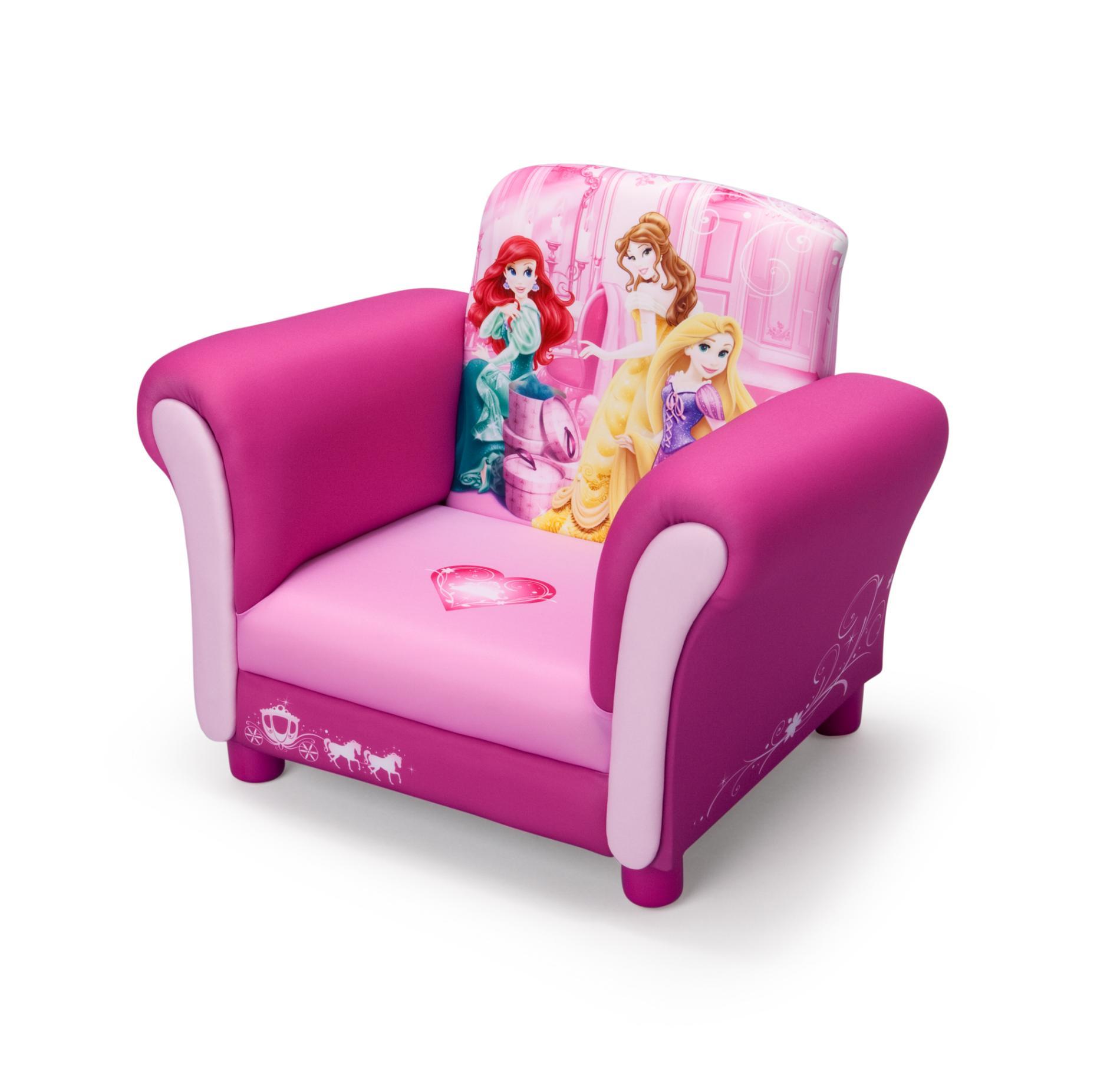 Disney Upholstered Chair  Princesses