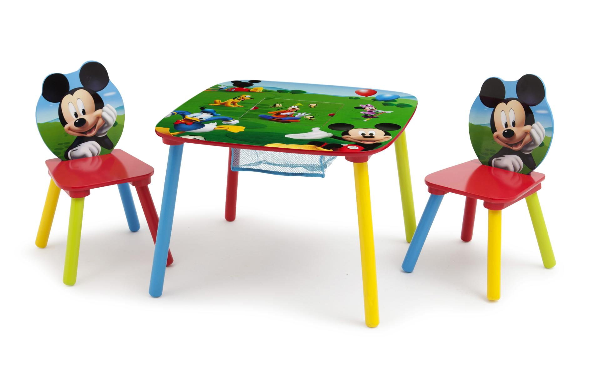 Mickey Mouse Chairs For Toddlers Disney Mickey Mouse Table 2 Chairs