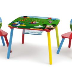 Mickey Mouse Chairs And Table High Outdoor Disney 2