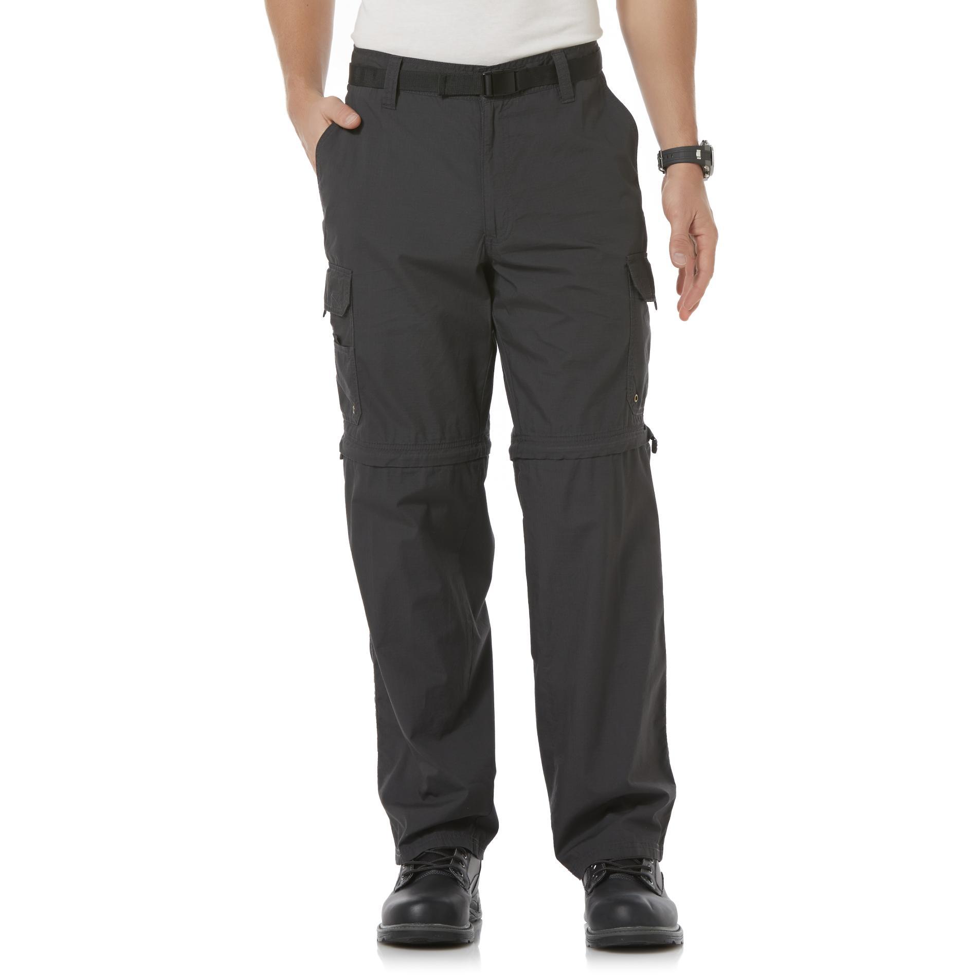 Northwest Territory Mens ZipOff Cargo Pants  Belt