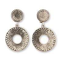 Jaclyn Smith Women's Silvertone Clip-On Drop Earrings