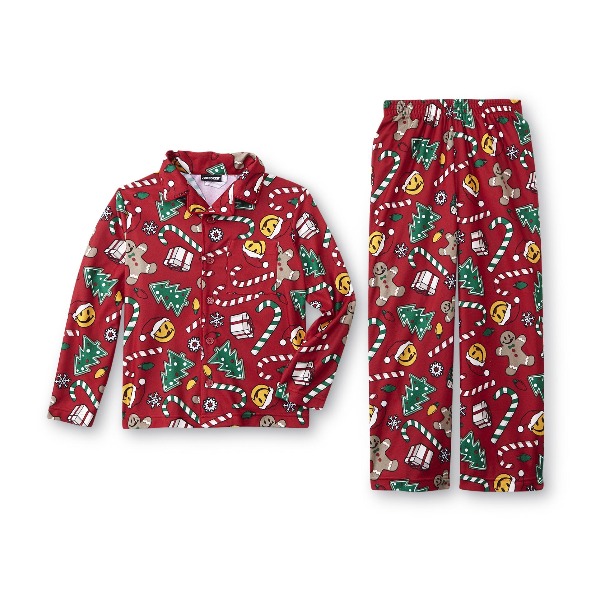 sears kitchen appliance bundles kohler pull out faucet repair joe boxer boy's christmas pajama shirt & pants - candy ...