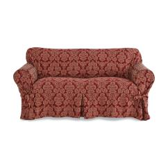 Flower Sofa Covers Leather Outlets Uk Sure Fit Middleton Floral Print Loveseat Slipcover Home