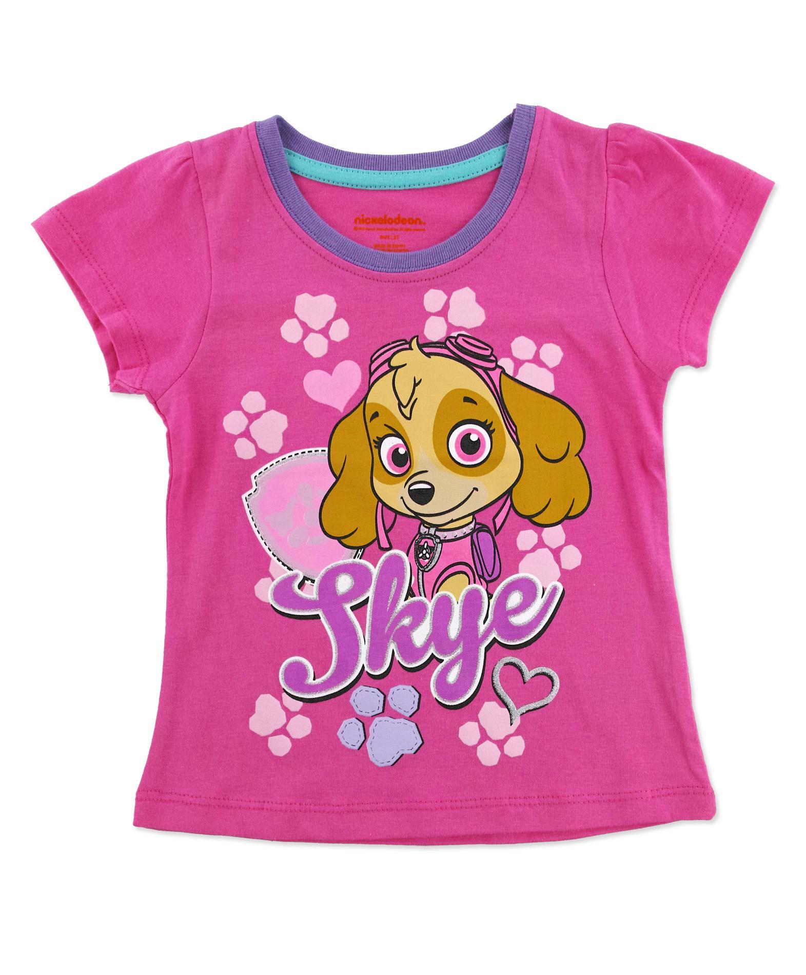 Nickelodeon PAW Patrol Toddler Girls T Shirt Skye