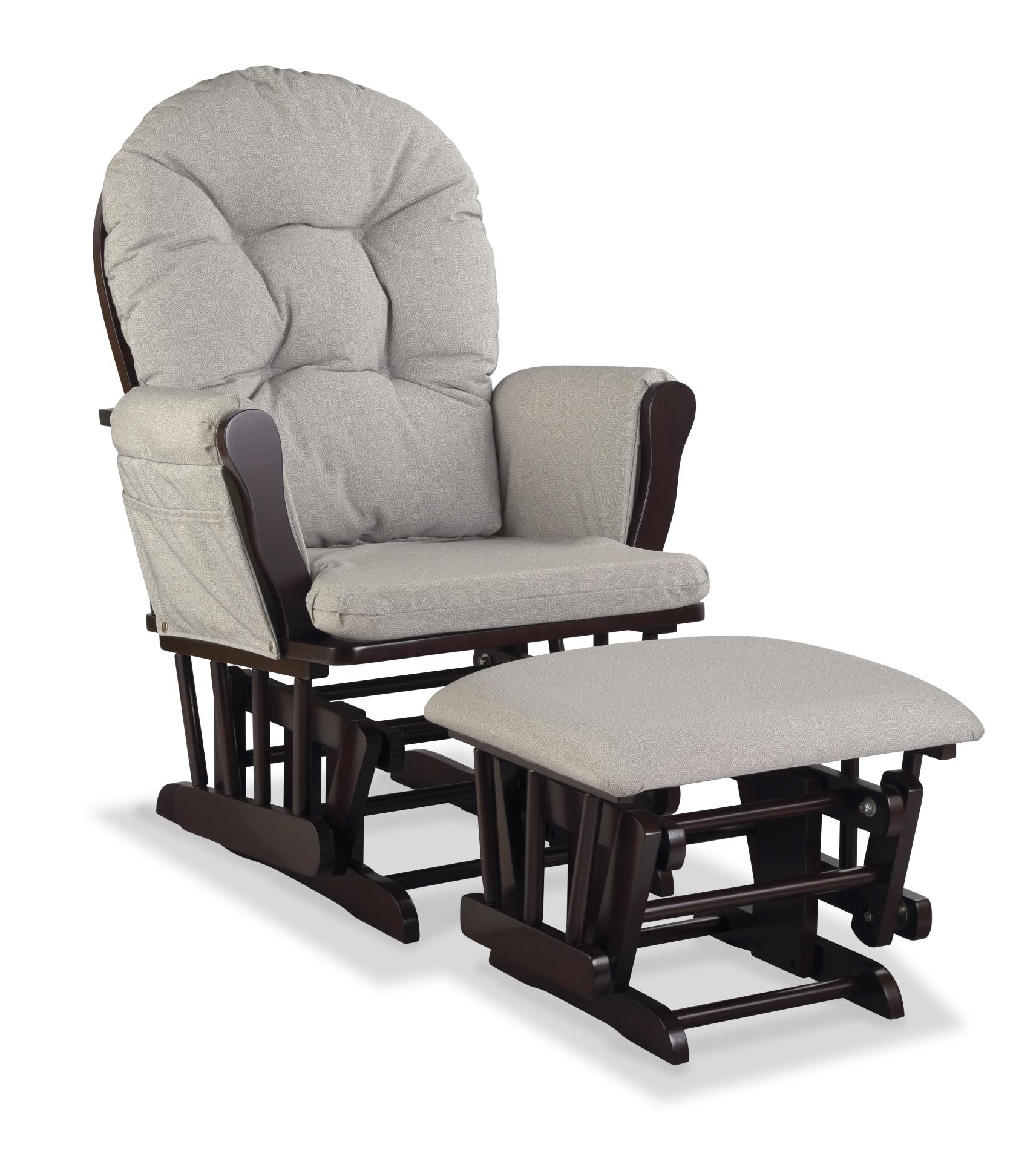 Nursery Glider Chairs Graco Nursery Glider Chair And Ottoman