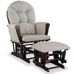 Glider Chair For Nursery Unfinished Wood Child Graco And Ottoman