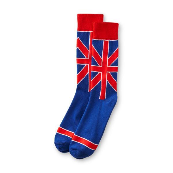 Joe Boxer Men' Crew Socks - Union Jack
