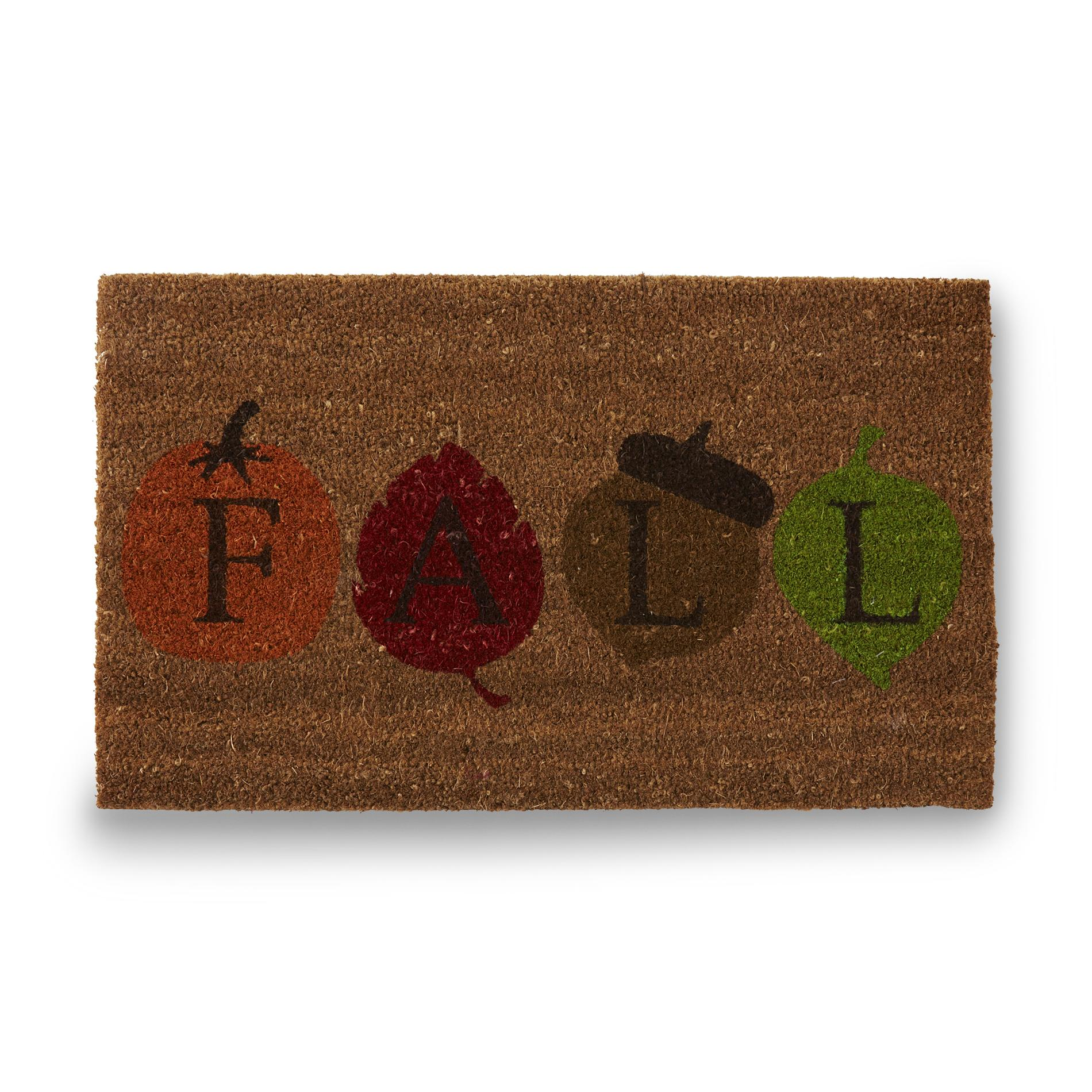 Allure Coir Doormat Fall Home Home Decor Rugs