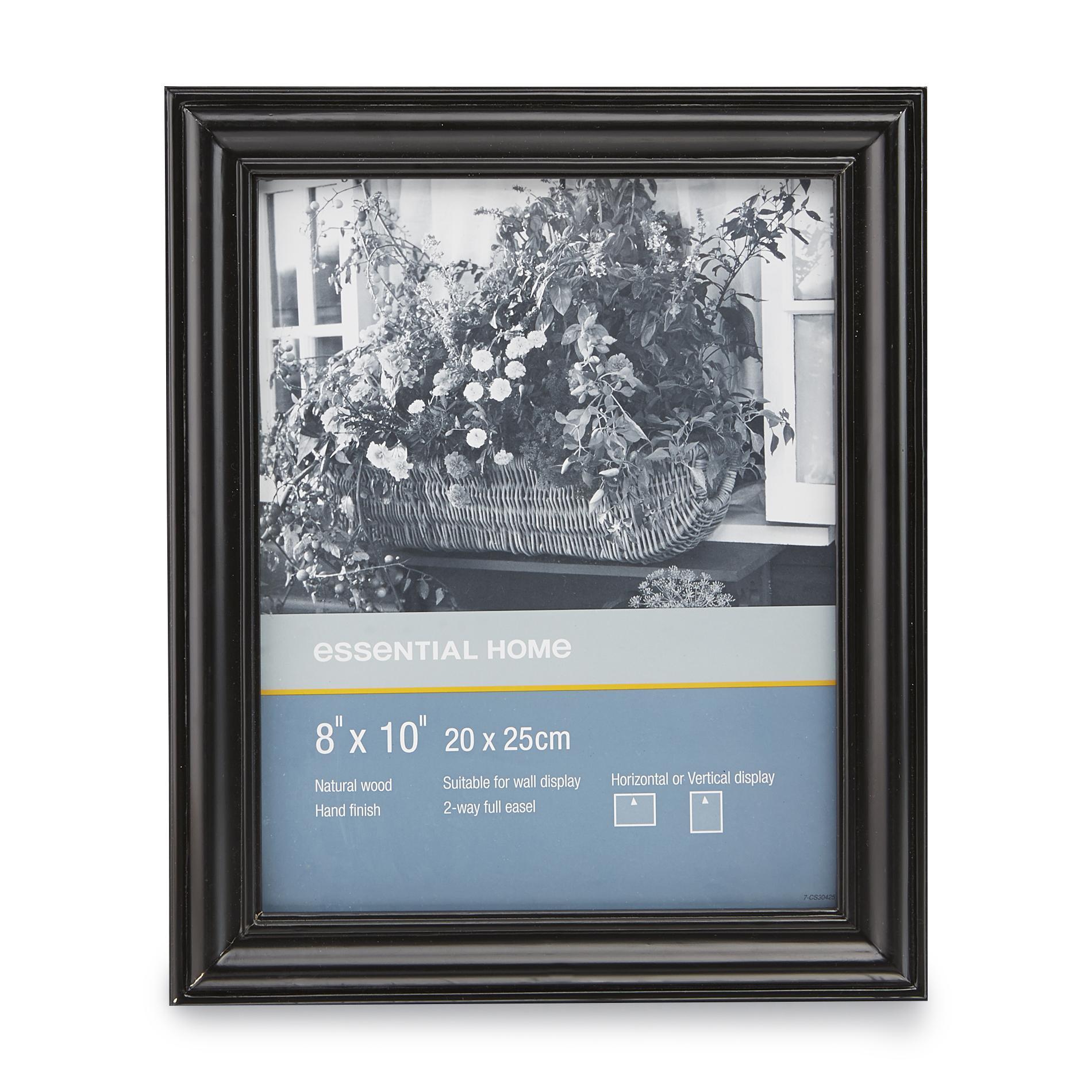 Essential Home 8 X 10 Black Wooden Frame