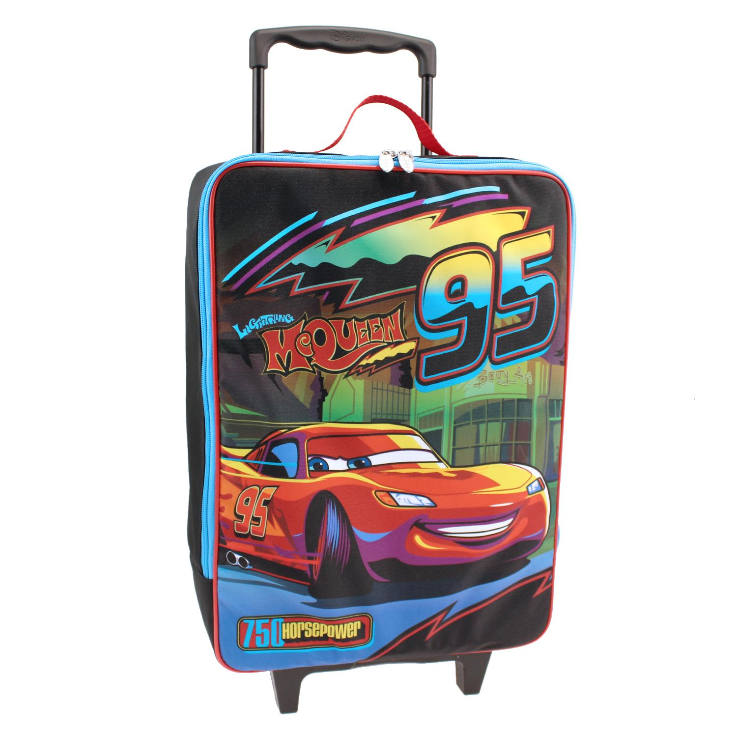 Disney Cars Boy' Pilot Suitcase - Lightning Mcqueen