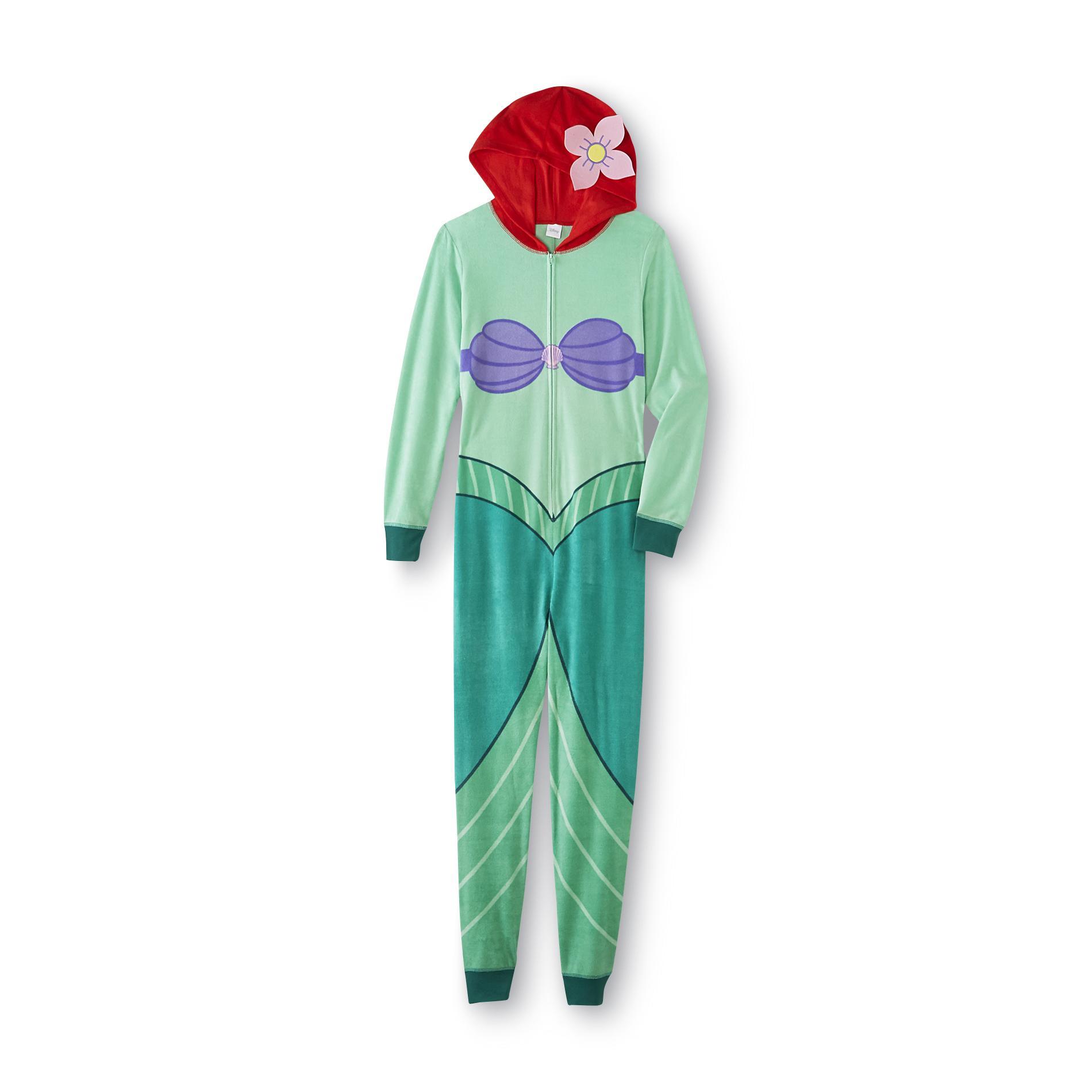 Disney The Little Mermaid Womens One Piece Pajamas