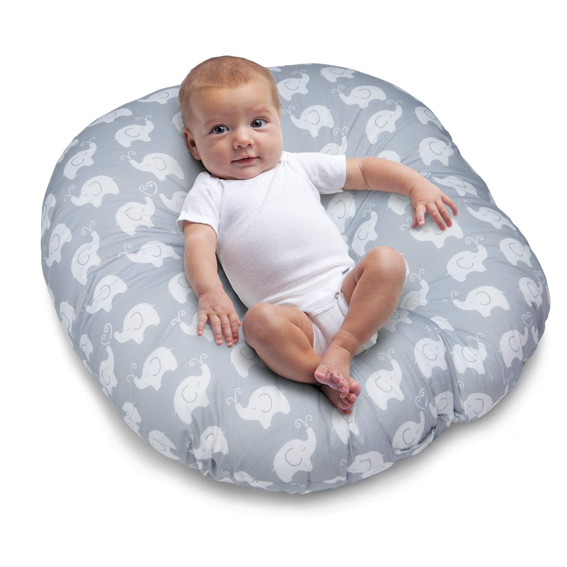 baby boppy chair recall desk with back support newborn lounger pillow elephants feeding alternate image