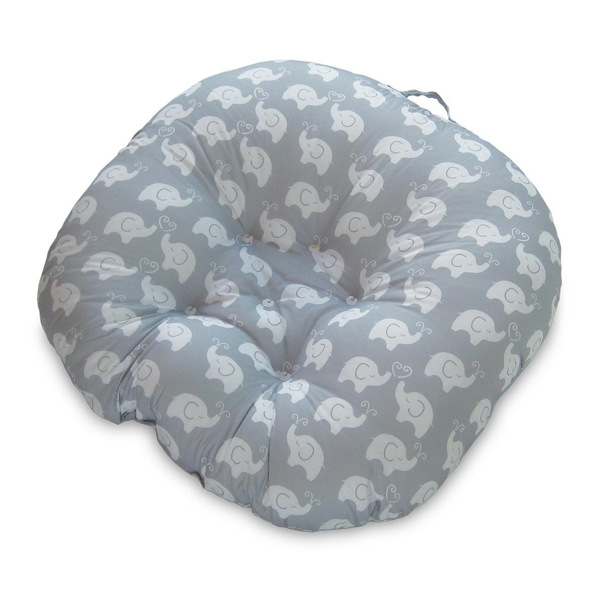 boppy baby chair hi boy beach newborn lounger pillow elephants