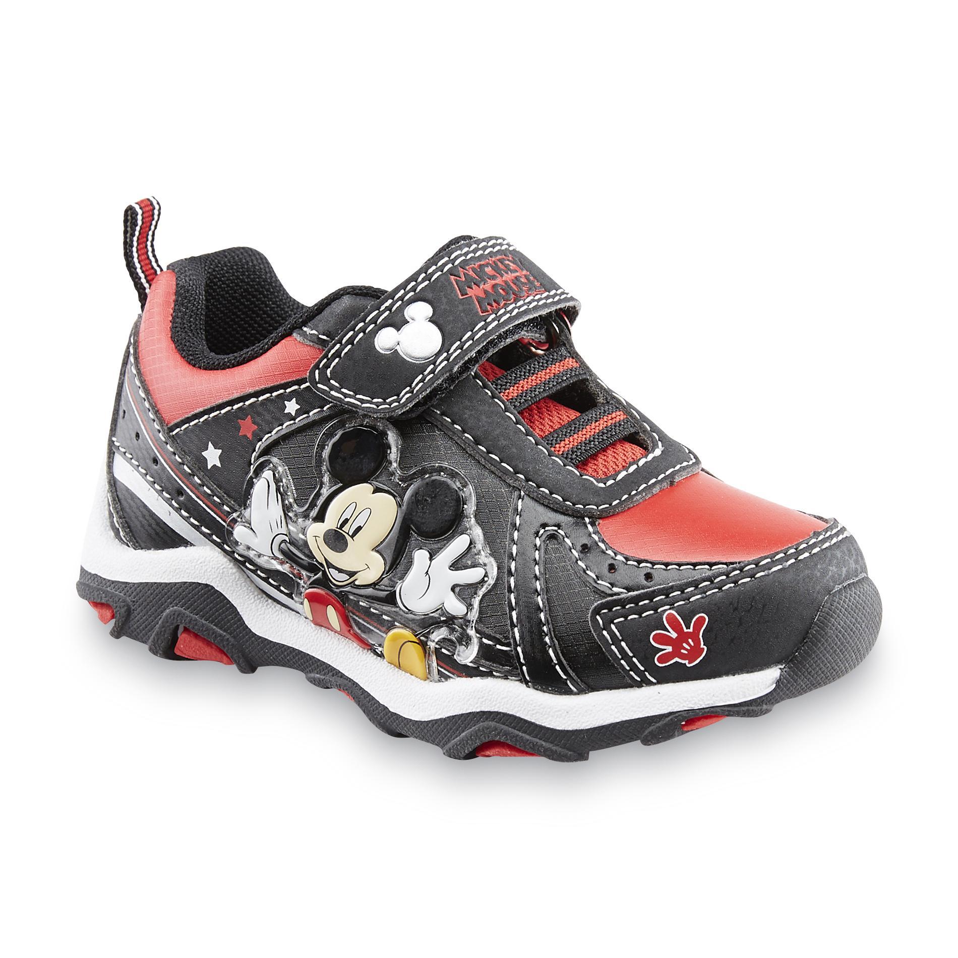 Disney Toddler Boys Mickey Mouse BlackRed Sneaker