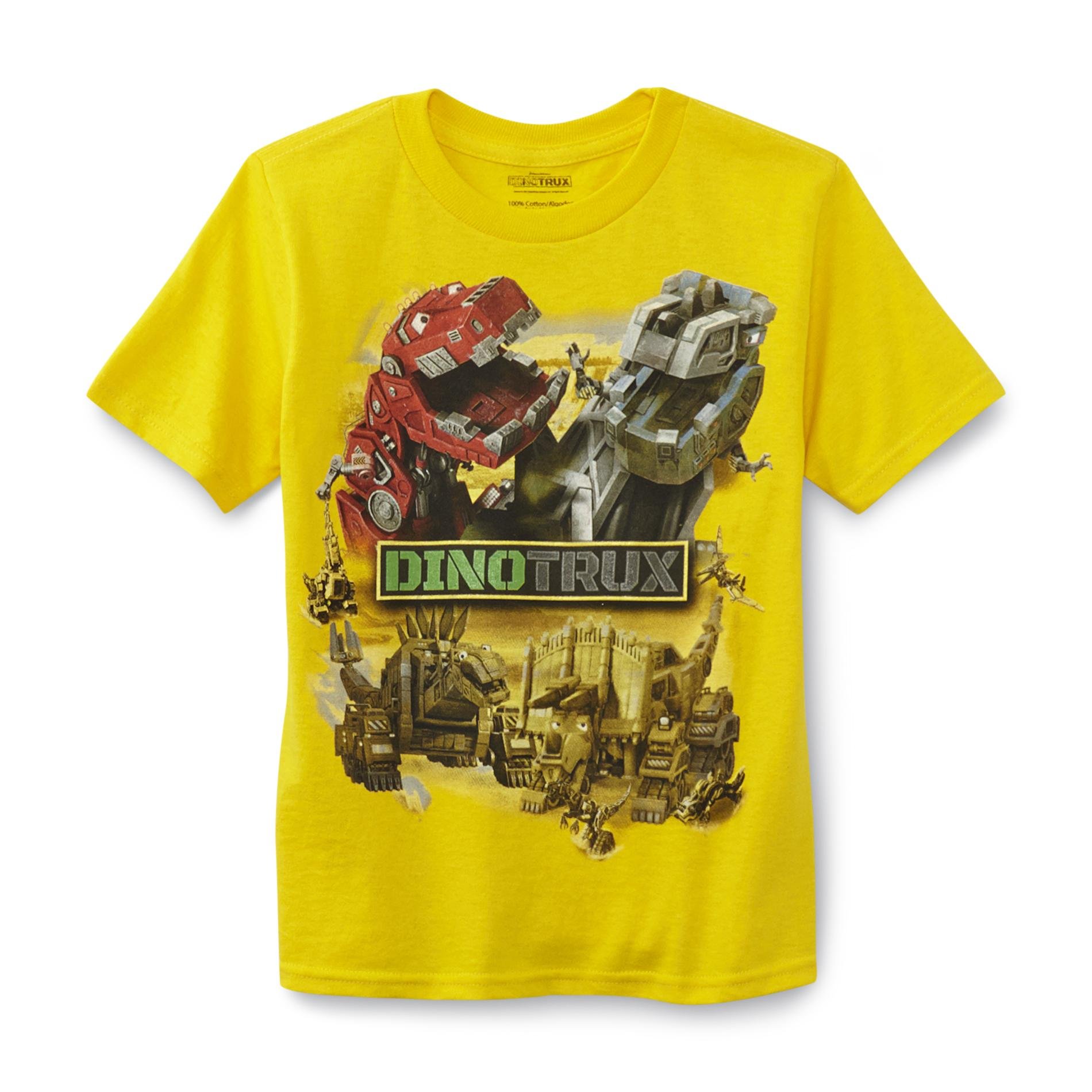 Dreamworks DinoTrux Boys Graphic T Shirt Characters