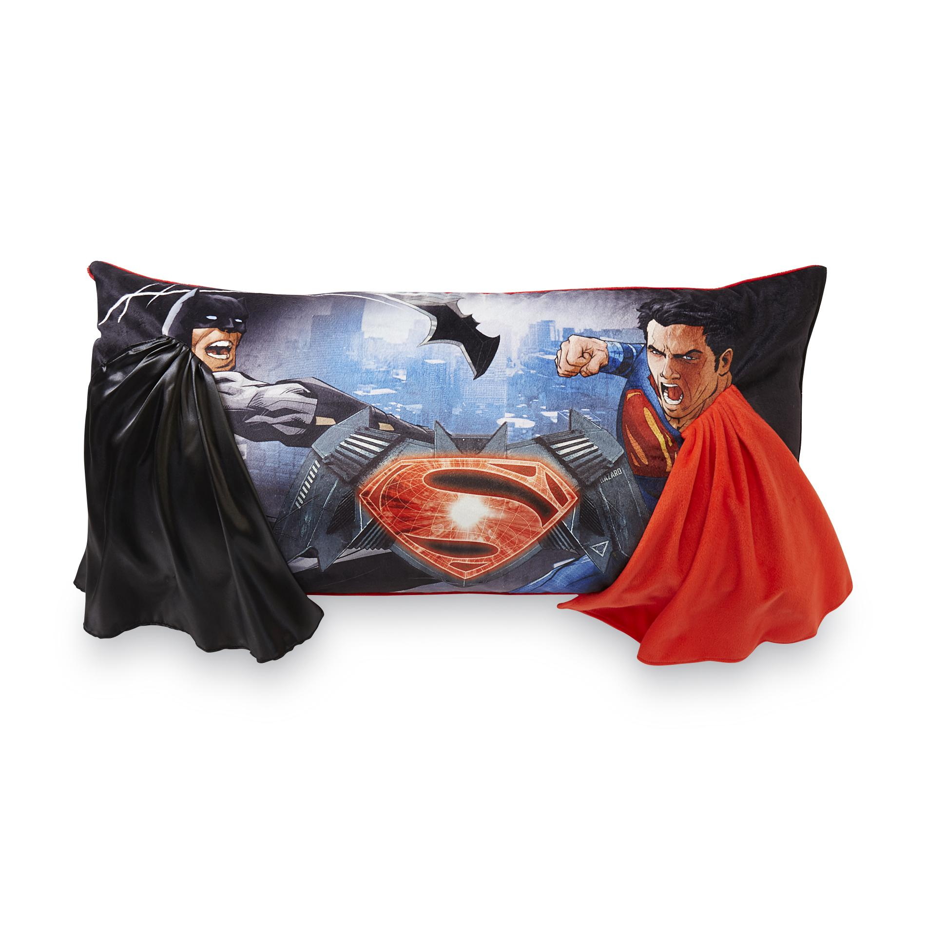 Warner Brothers Batman V Superman Plush Body Pillow