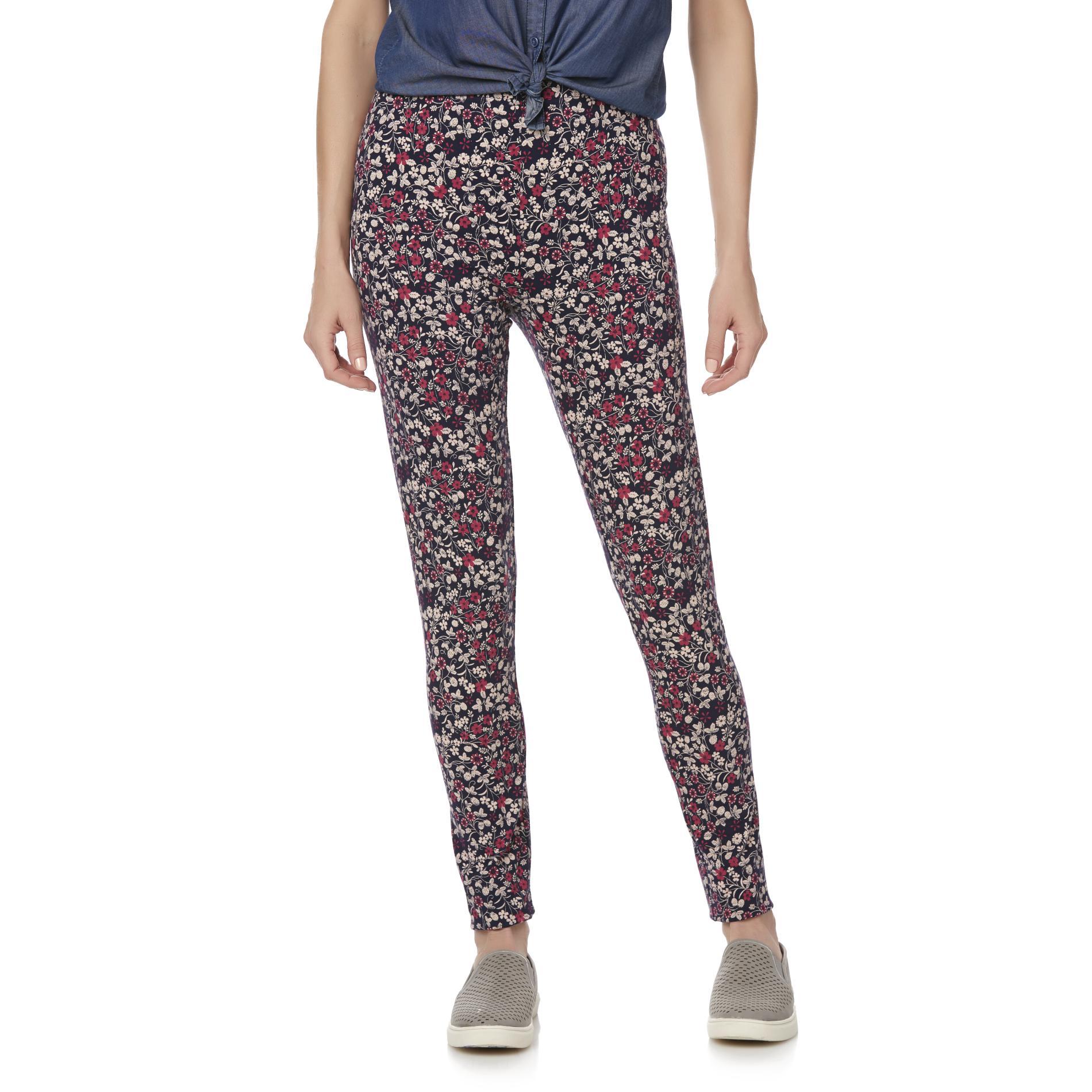 Basic Editions Women' Leggings - Floral