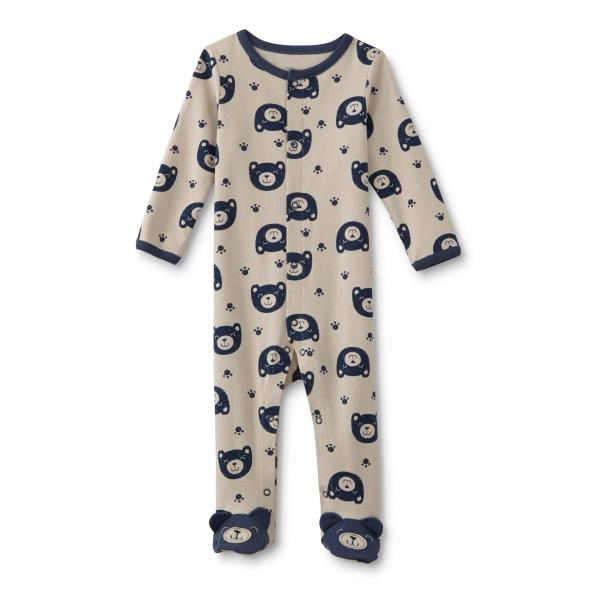 Little Boys Footed Pajamas