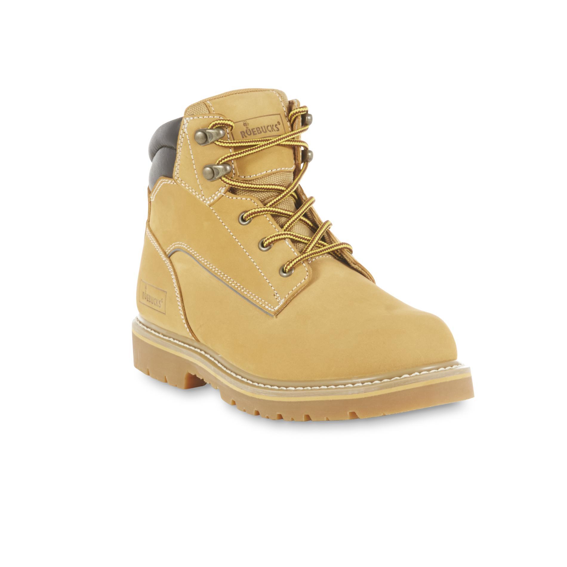 Roebucks Mens Brake Tan Soft Toe Work Boot  Shoes  Men