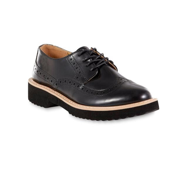 Women's Black Oxford Shoes