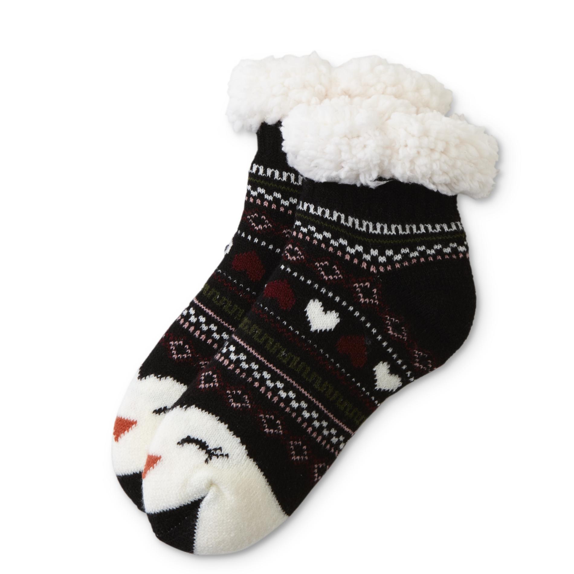 Women' Cozy Ankle Socks - Penguin