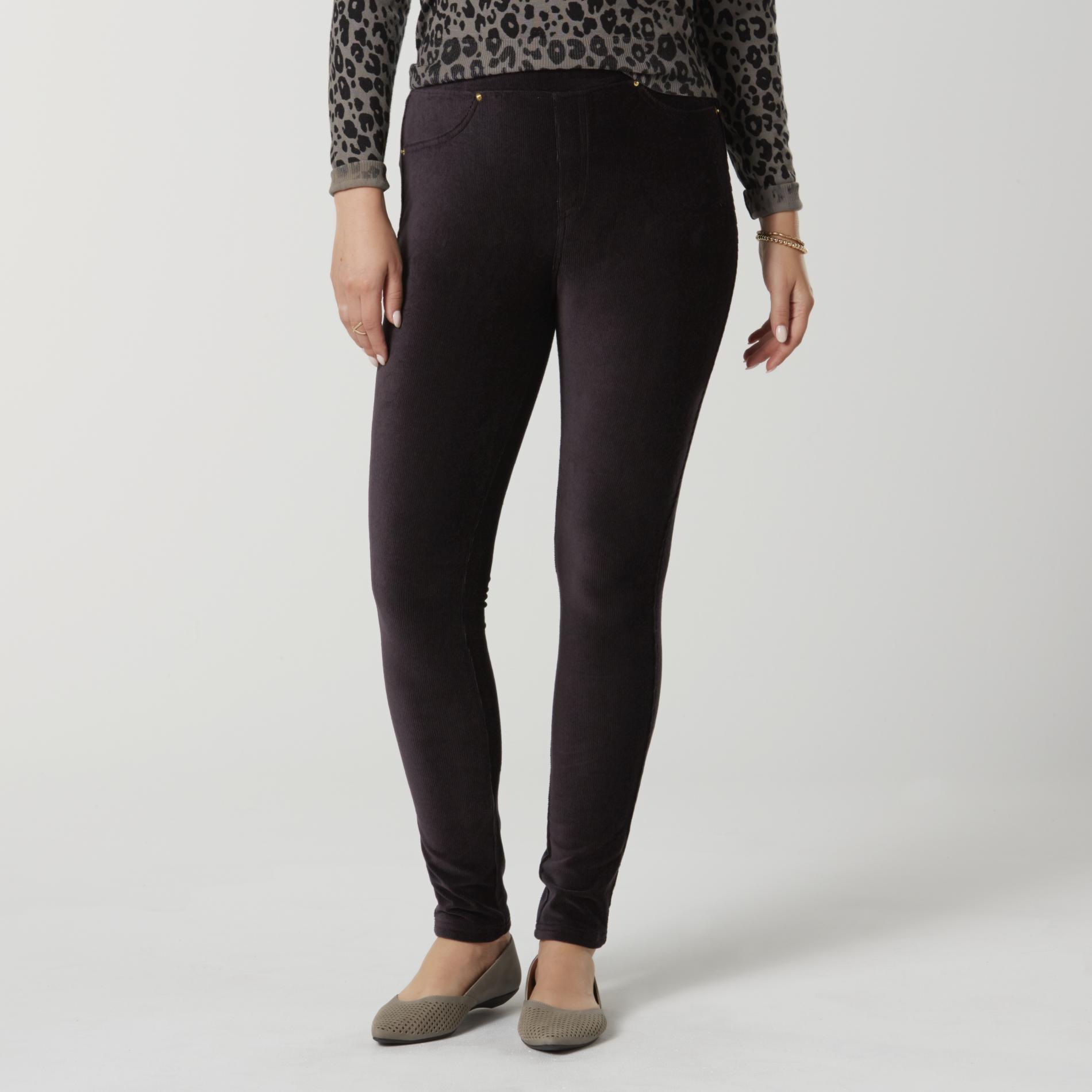 Basic Editions Women' Corduroy Leggings