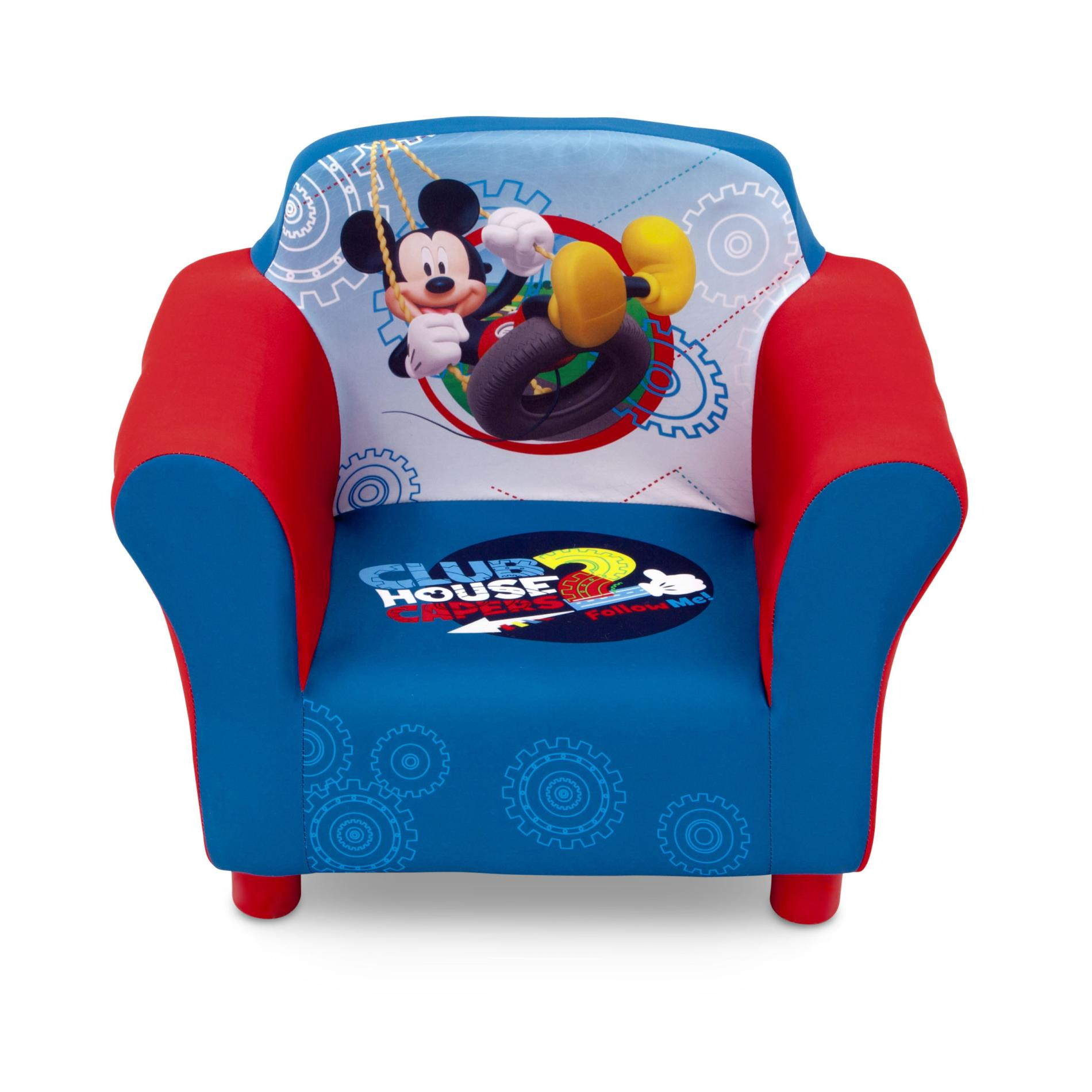 Toddler Chairs Disney Mickey Mouse Clubhouse Toddler Boy 39s Upholstered