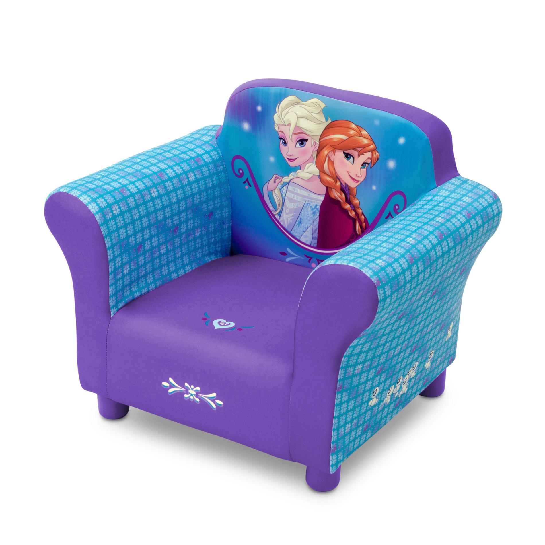 Disney Frozen Toddler Girls Upholstered Chair  Anna