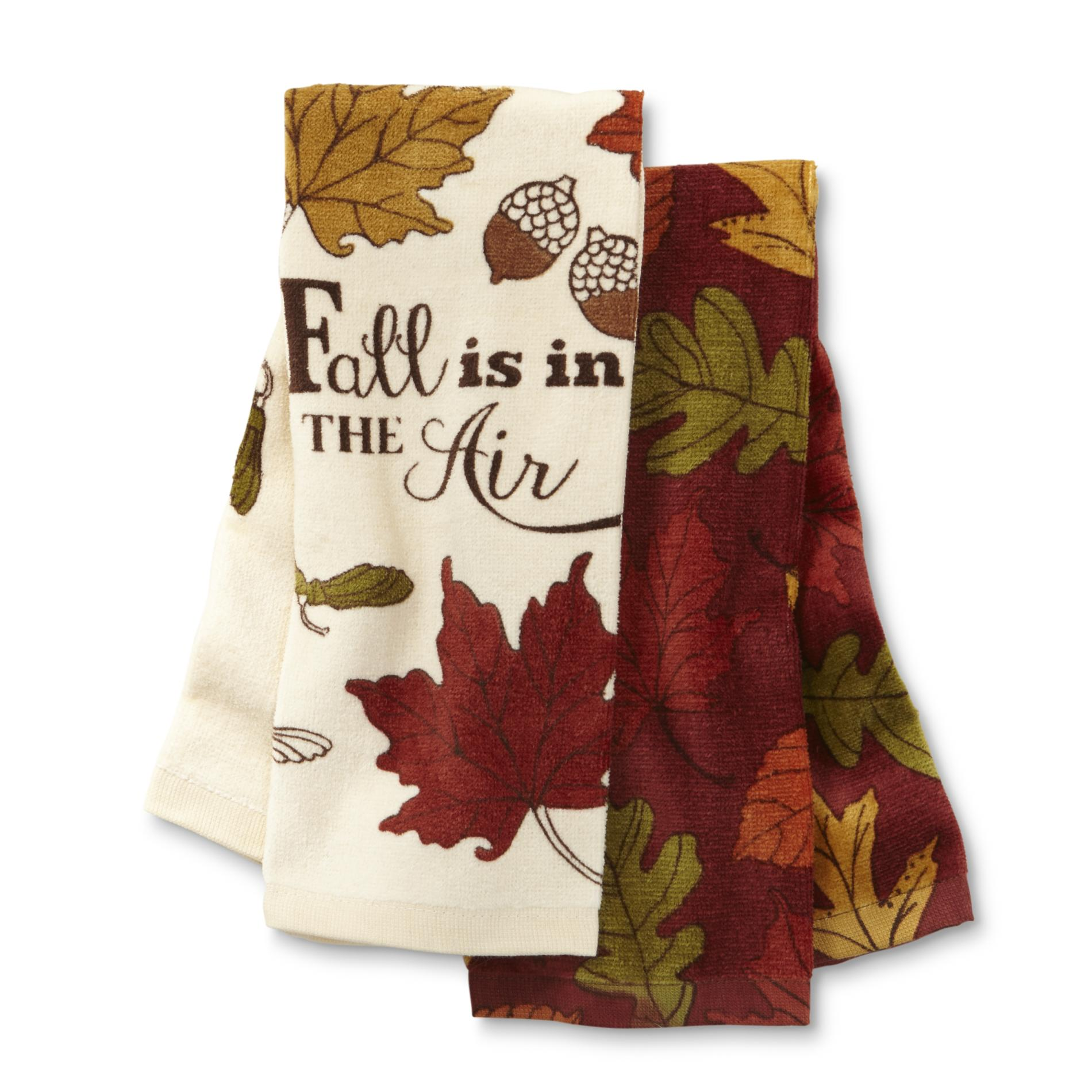 Essential Home 2Pack Kitchen Hand Towels  Fall is in the Air