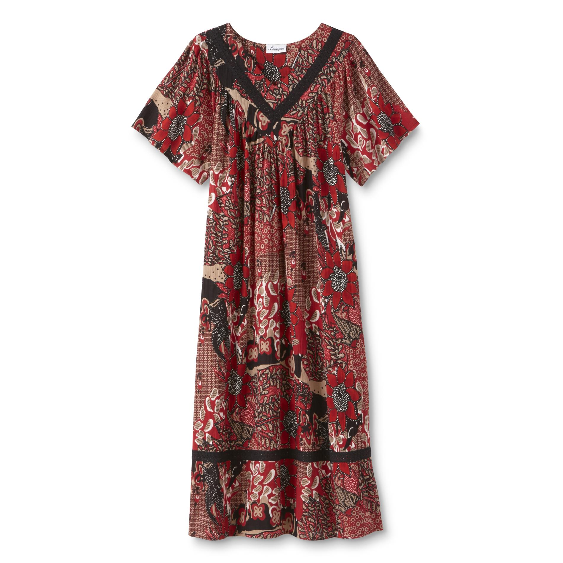 Loungees Women39s Lounge Dress Floral