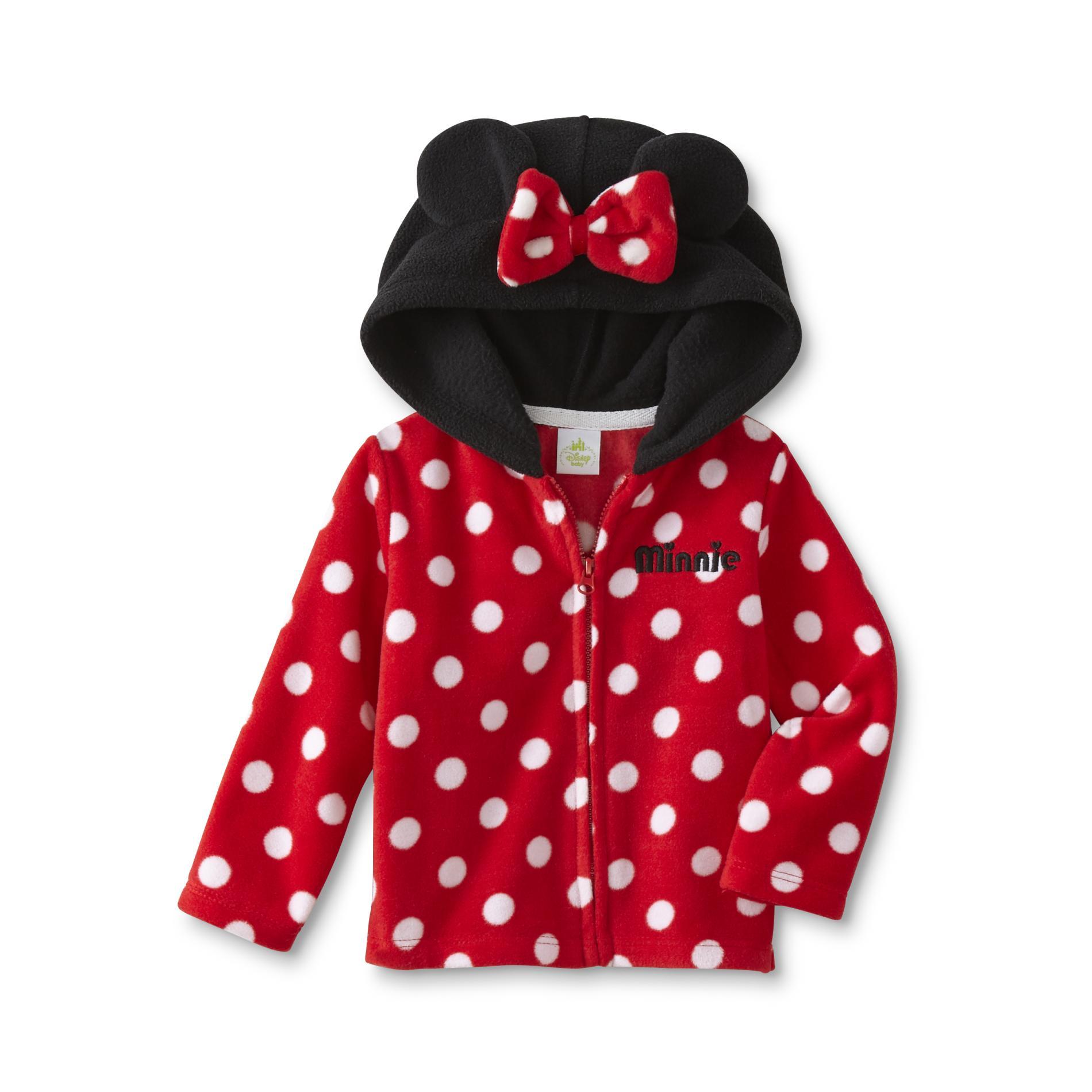 Disney Minnie Mouse Newborn Girls' Hoodie Jacket