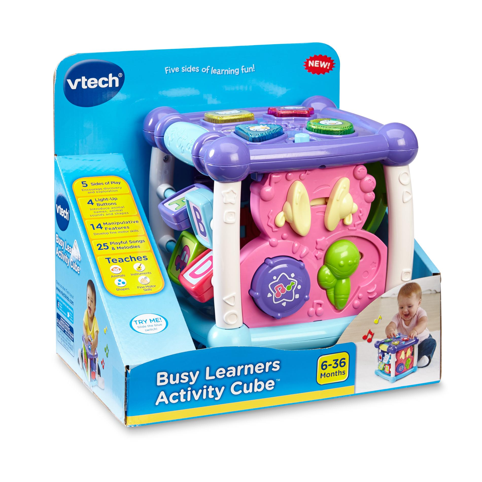 Vtech Infants Busy Learners Activity Cube