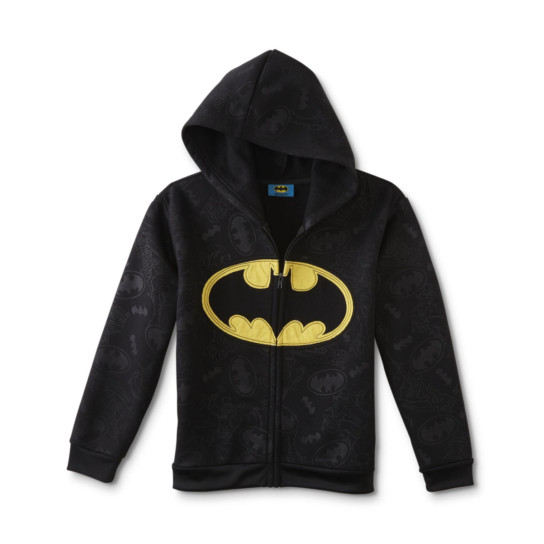 DC Comics Batman Boys Fleece Hoodie Jacket