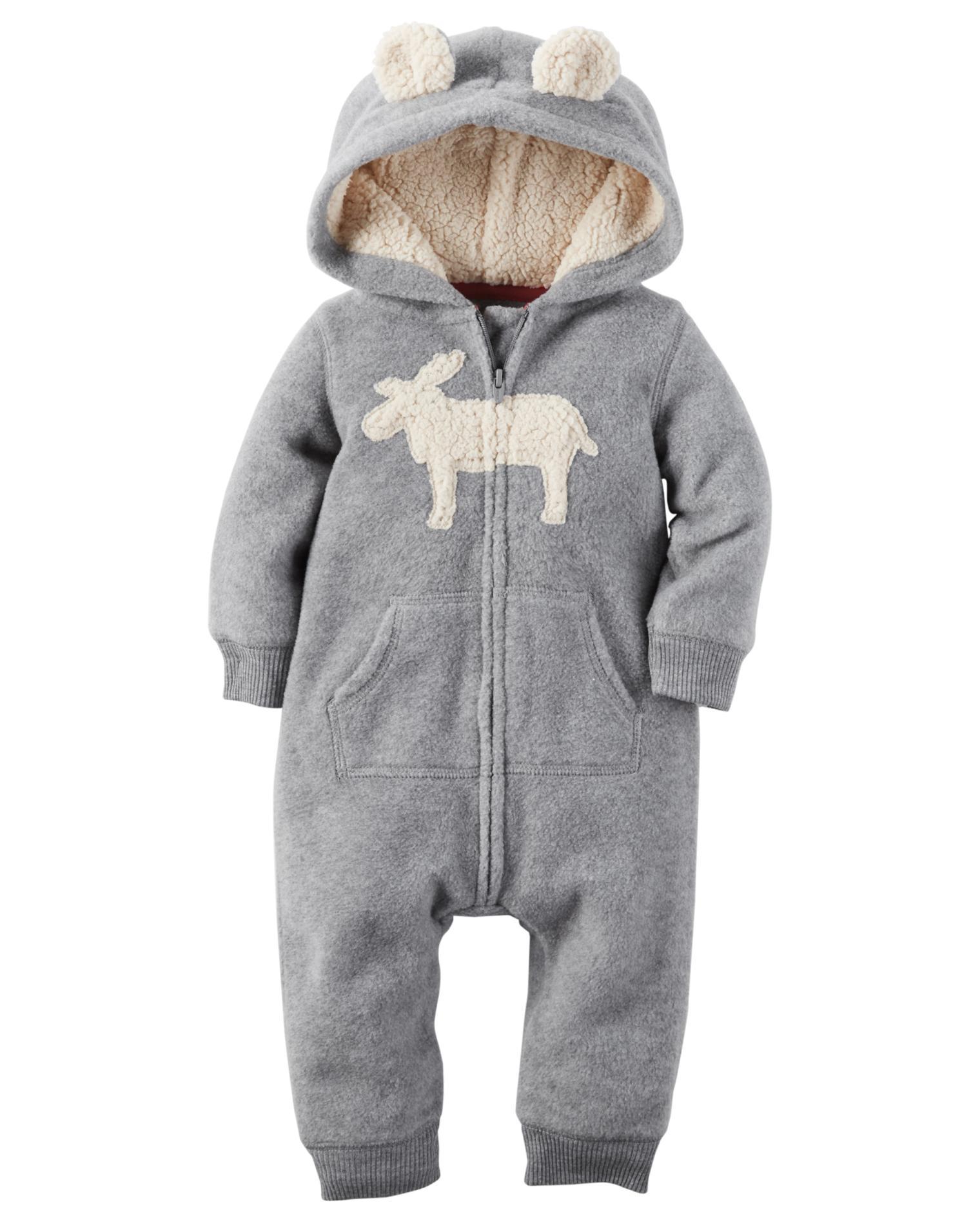 Carter' Newborn & Infant Boys' Pram Suit - Moose