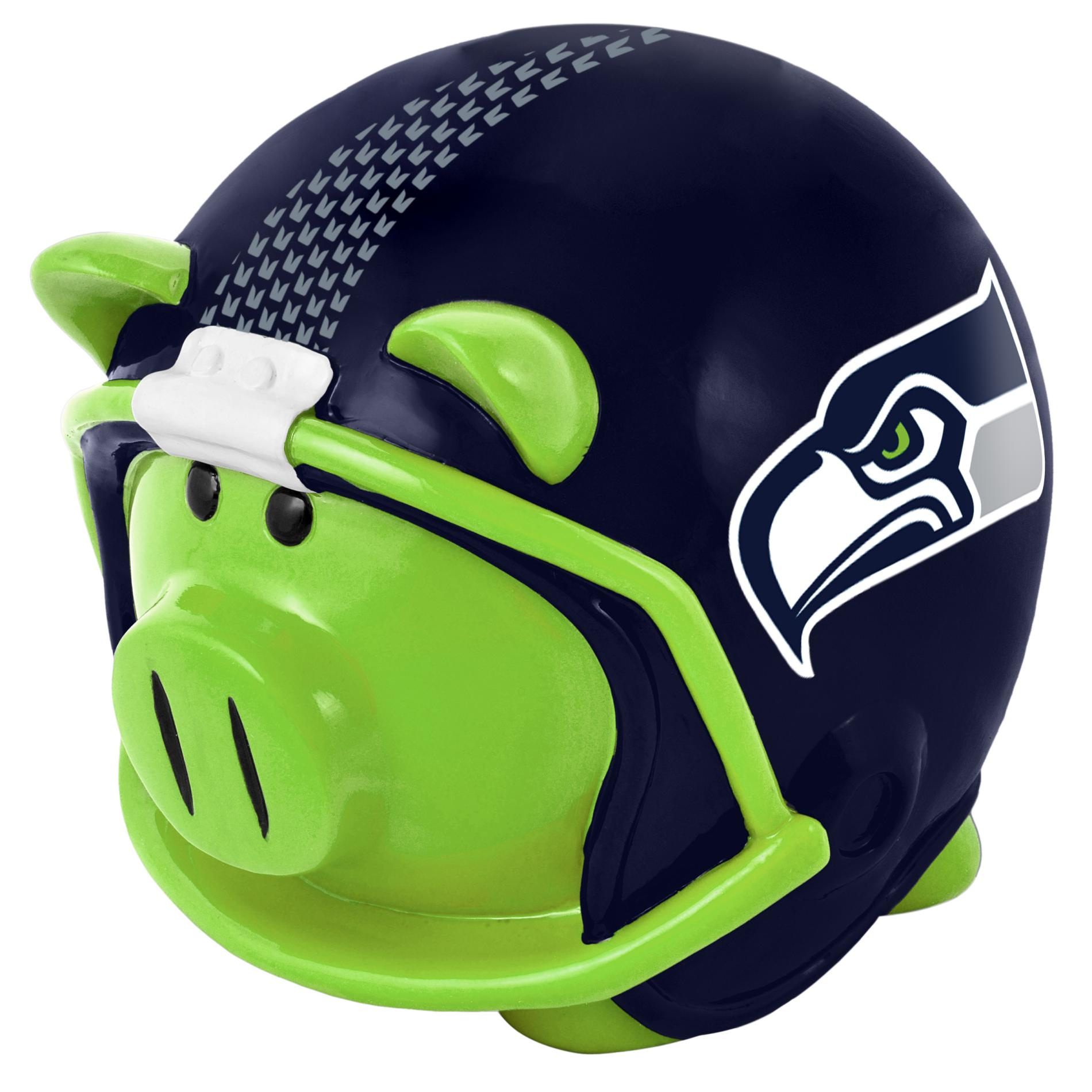 NFL Helmet Piggy Bank Seattle Seahawks
